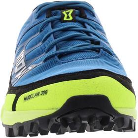 inov-8 Mudclaw 300 Shoes Women, niebieski/żółty
